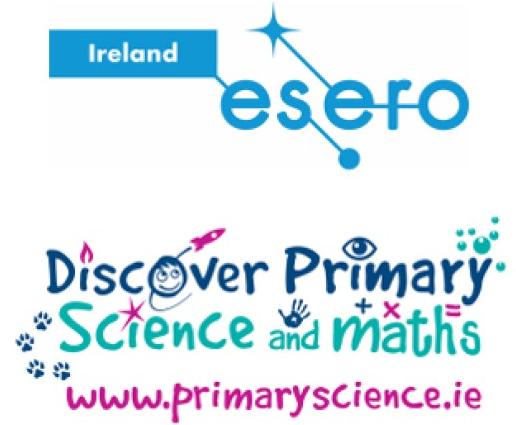 DPSM and ESERO Ireland logos