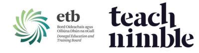 Donegal ETB & TeachNimble logos