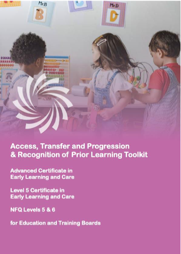 Draft Access Transfer and Progression and Recognition of Prior Learning toolkit